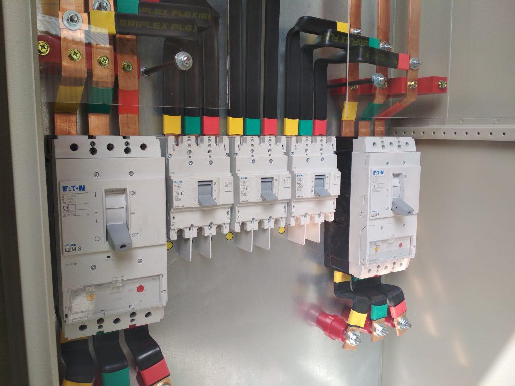 Шафа живлення компресорів