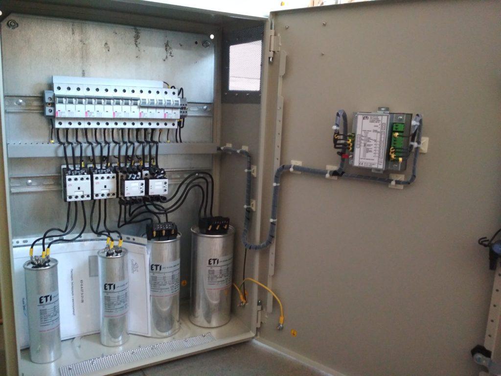 Конденсаторна установка з компонентами від ЕТІ